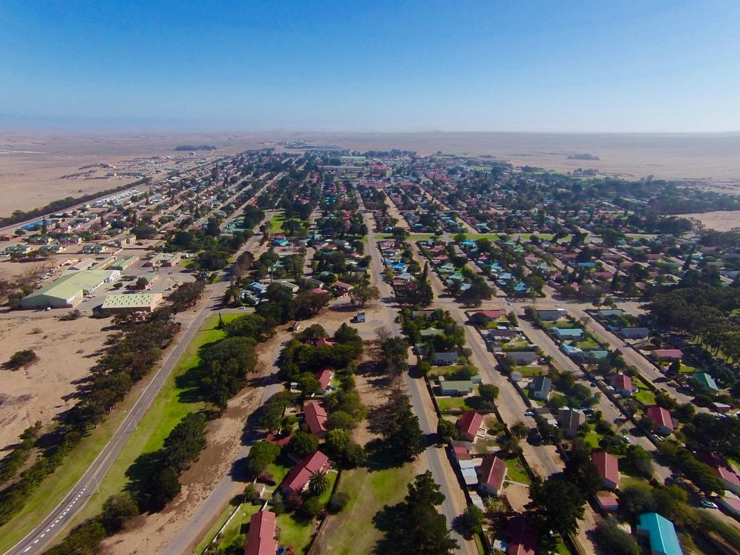 Oranjemund Aerial-view