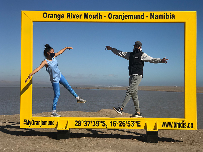Oranjemund Yellow Frame